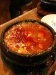 kimchee-beef soon doo boo